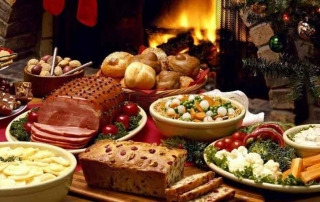 Calories in Christmas Dinner